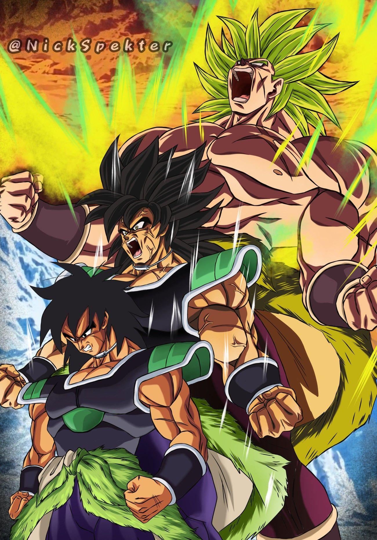 Broly By Nickspekter Dragon Ball Super Manga Anime Dragon Ball Super Dragon Ball Goku
