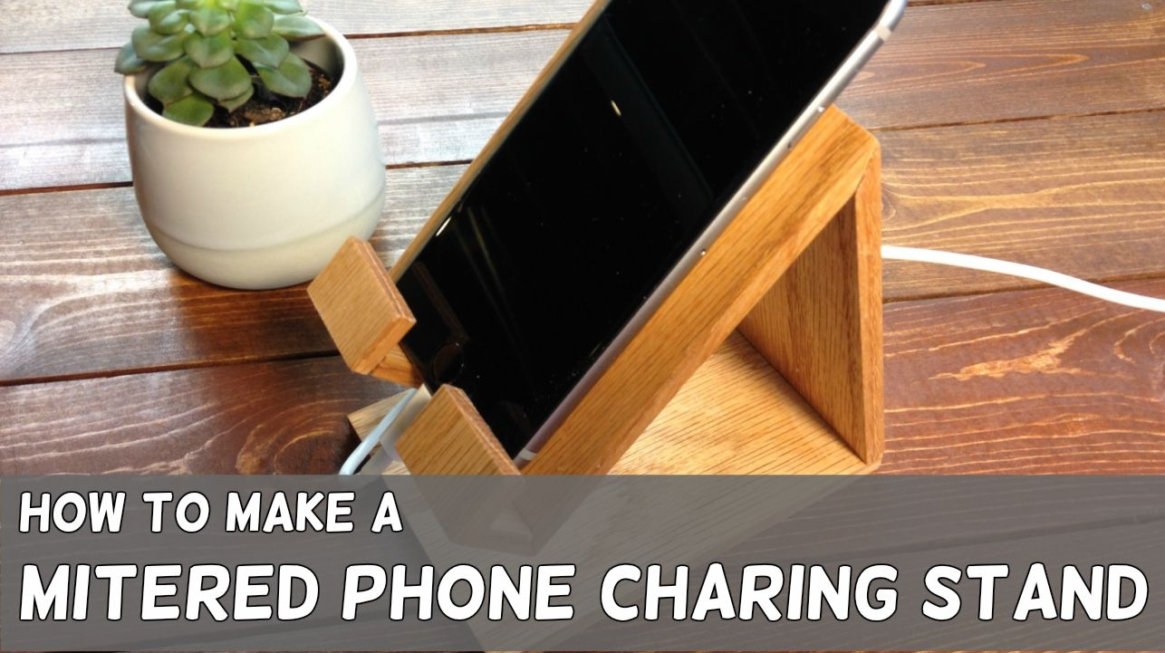 Diy modern phone charging stand phone charging stand