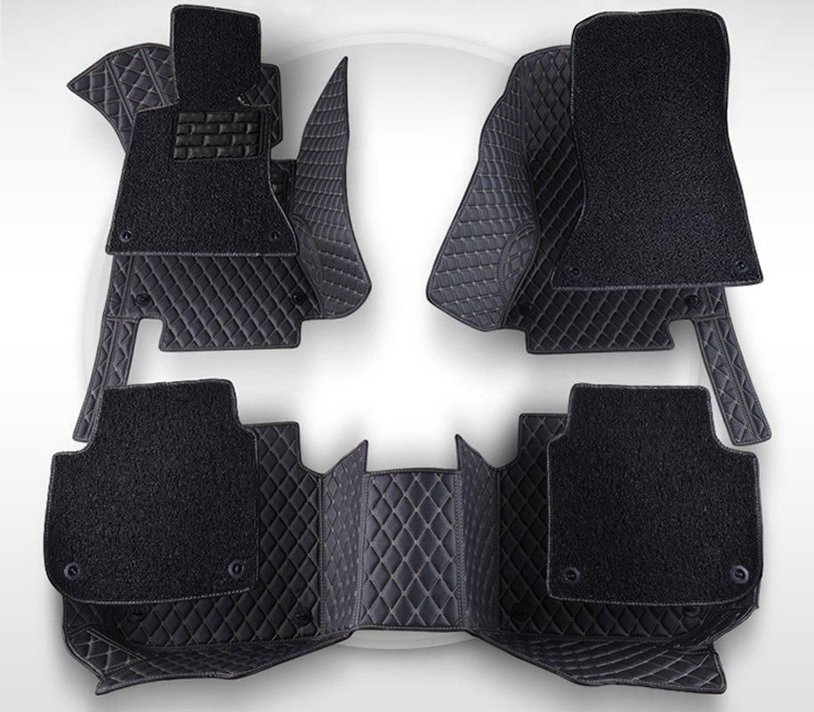 AA Double Layer!Custom Special Floor Mats For Mitsubishi Lancer