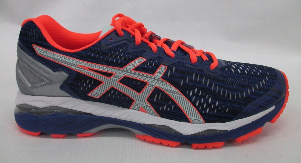 save off 0770d 8df55 Asics Womens Gel Kayano 23 Lite Show Shoes T6A6N 4593 Blue ...