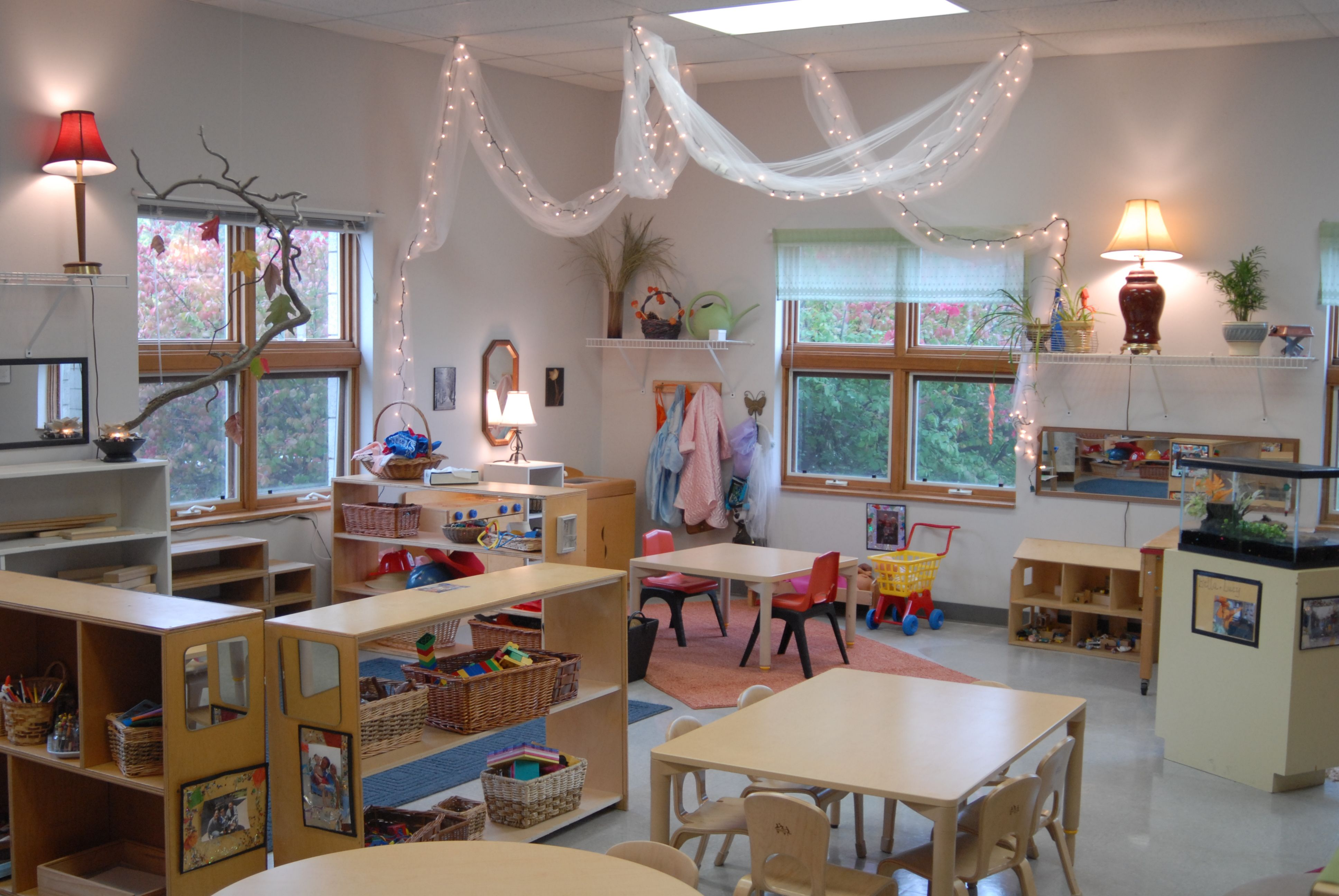 Classroom Design Inspiration ~ Reggio inspired preschool classroom our classrooms