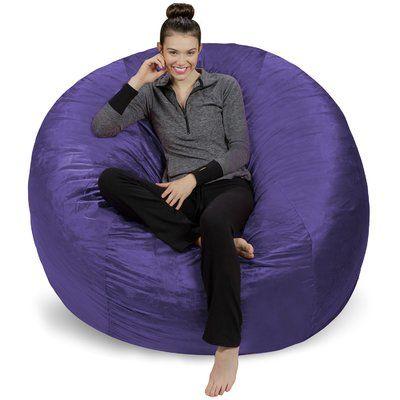 Ebern Designs Extra Large Bean Bag Chair Bean Bag Chair Large Bean Bag Chairs Outdoor Bean Bag Chair