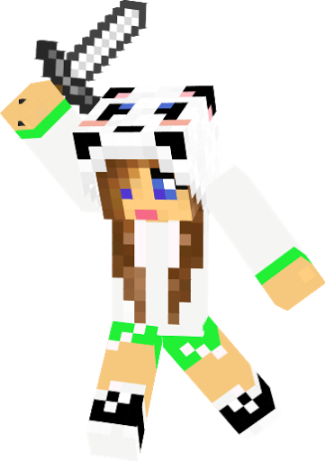Cool minecraft girl skins panda girl novaskin gallery - Cool girl skins for minecraft pe ...