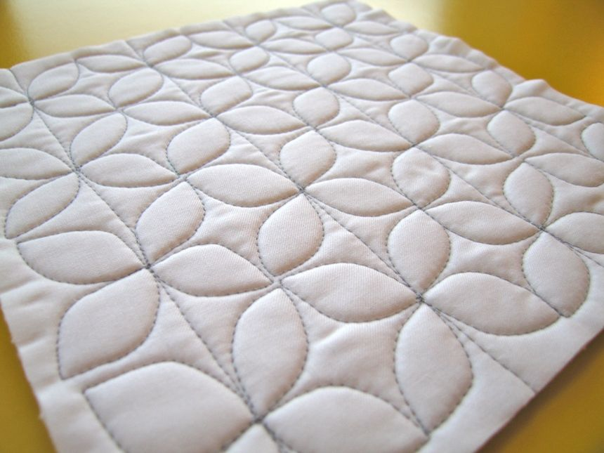 Free motion quilting patterns for beginners sewing for Quilting templates free