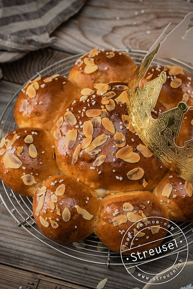 Schweizer Dreikönigskuchen ohne Sultaninen Rezept