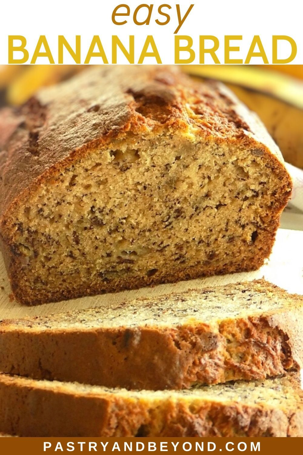 Simple Banana Bread Recipe-You'll love this deliciously ...