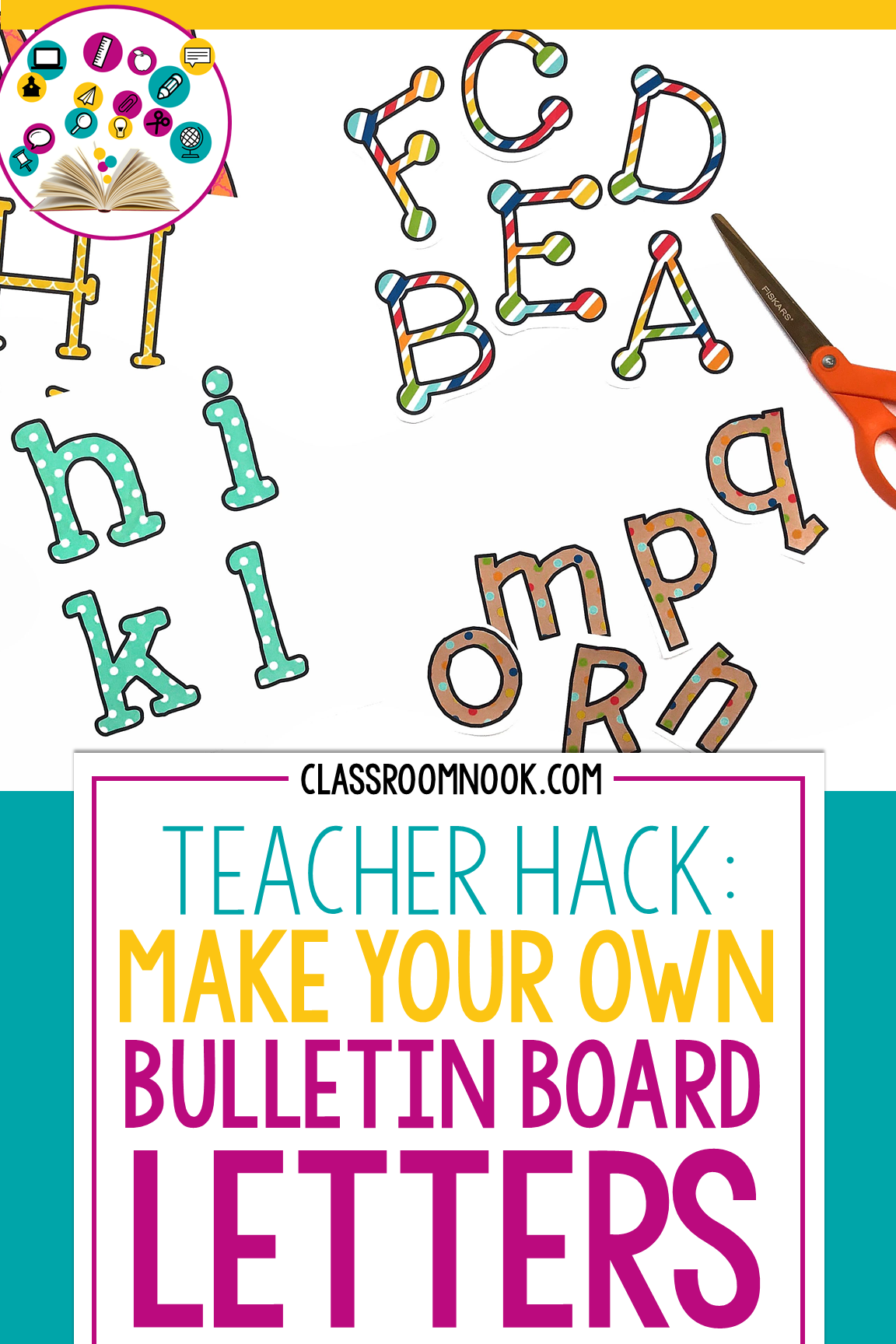 How To Make Your Own Bulletin Board Letters So Easy