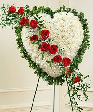 Always In My Heart Funeral Spray Funeral Flower Arrangements Funeral Floral Arrangements Funeral Floral