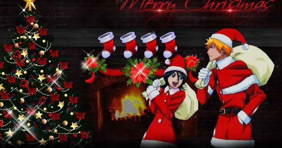 12 Anime Boy Merry Christmas Wallpaper Bleach Christmas Wallpapers Top Free Bleach Christmas Merry Christmas Wallpaper Anime Christmas Christmas Wallpaper