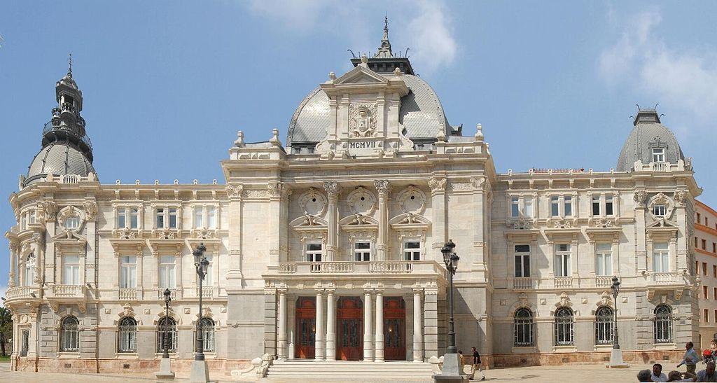 El Palacio Consistorial de Cartagena, también conocido como Ayuntamiento de Cartagena, es uno de los principales edificios modernistas de la ciudad de Cartagena (Región de Murcia) construido entre 1900 y 1907, obra del arquitecto vallisoletano Tomás Rico Valarino.