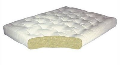 8 Inch All Cotton Futon Mattress By Gold Bond In Twin Full