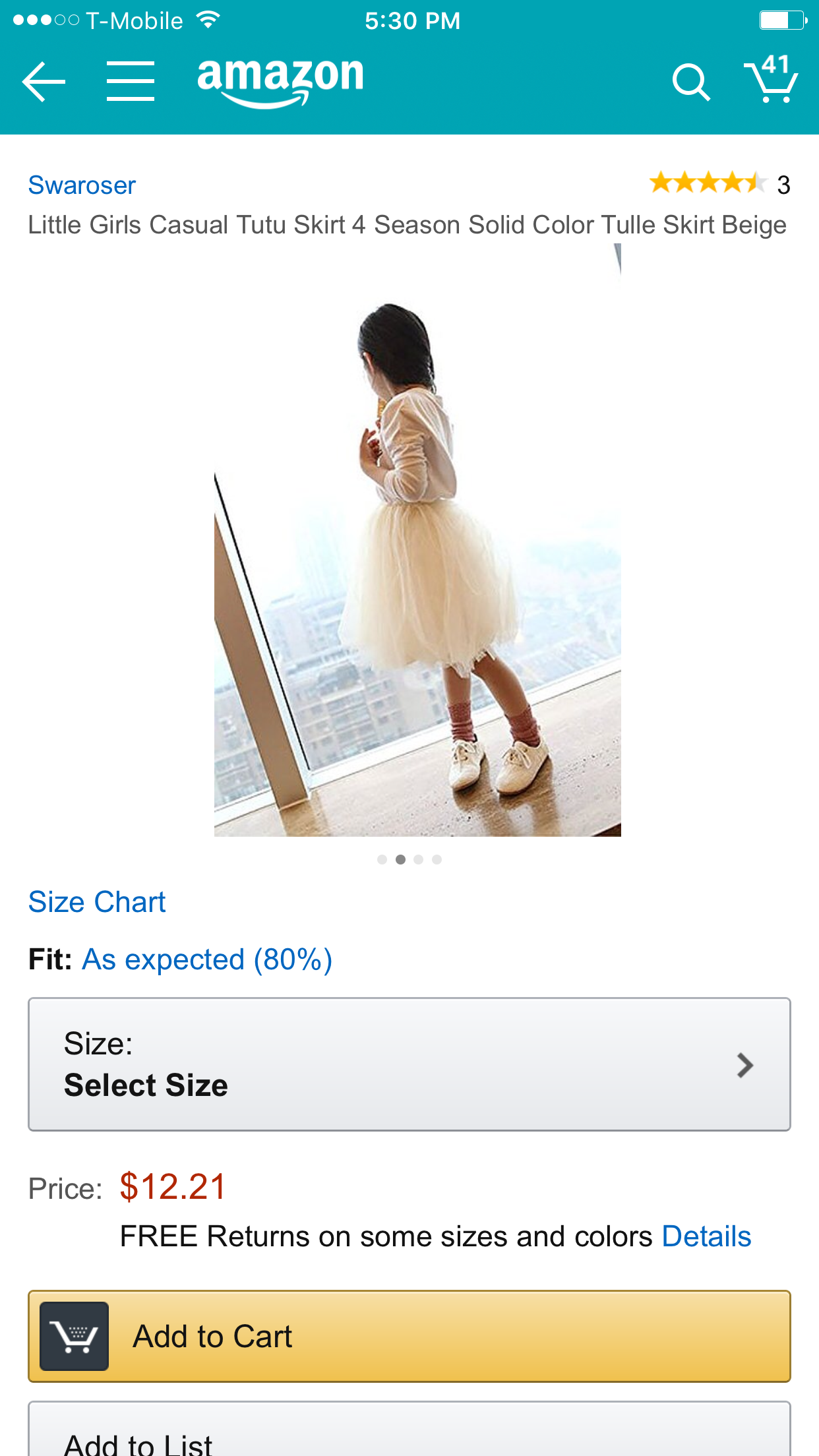 Swaroser Little Girls Casual Tutu Skirt 4 Season Solid Color Tulle Skirt Beige 4-5Y https://www.amazon.com/dp/B01A0GM9DO/ref=cm_sw_r_cp_api_RA9gyb2MD7NXT