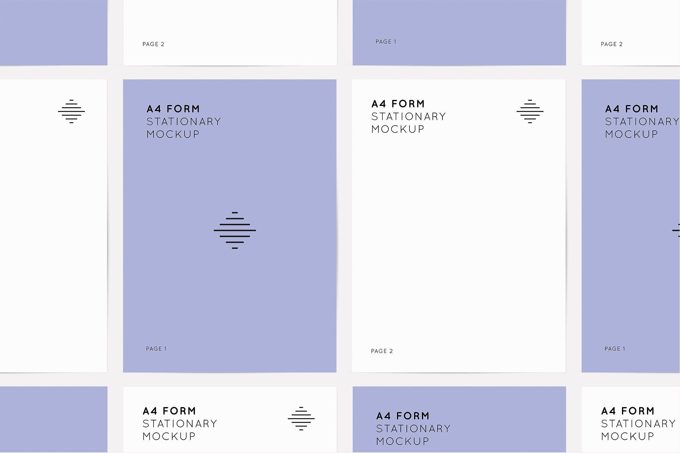 A4 Form Mockups Mockup Design A4 Form Mockup
