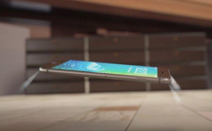 L'insano concept del nuovo iPhone 7 con getti d'aria per proteggere dagli urti dovuti alle cadute.  #rumours #was10