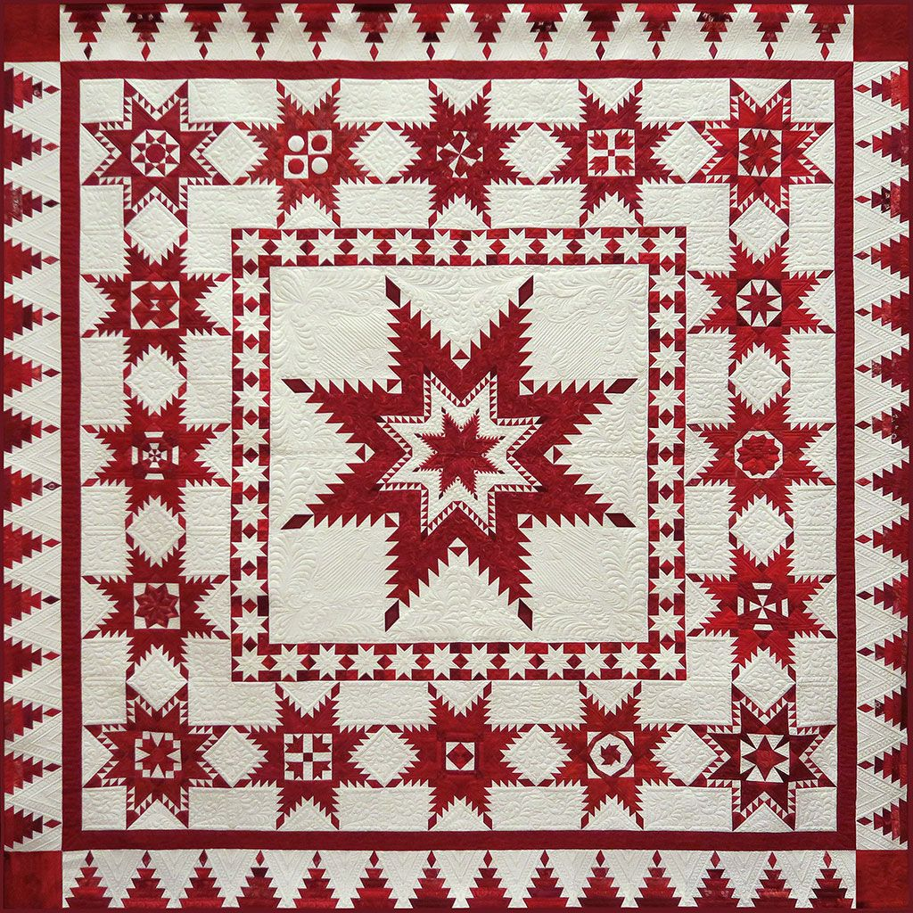 Red, White and Stars. 2016 Raffle Quilt, Austin Area Quilt Guild ... : quilt guild - Adamdwight.com
