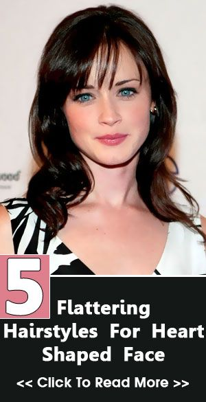 30 Flattering Hairstyles For Heart Shaped Face You Should Try Out