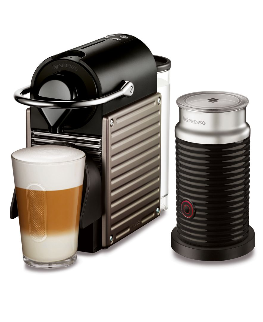 Appropriately Named For Its Compact Footprint Nespresso S Pixie
