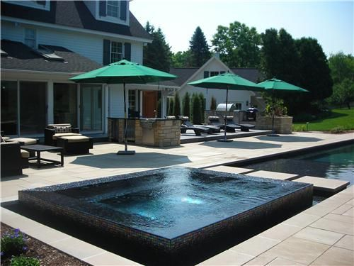 1000 images about scottsdale outside on pinterest outdoor planters planters and fire bowls overflow swimming pool design
