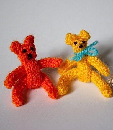 Free Knitting Pattern For I Cord Teddy Bear Sarah Bradberrys Tiny