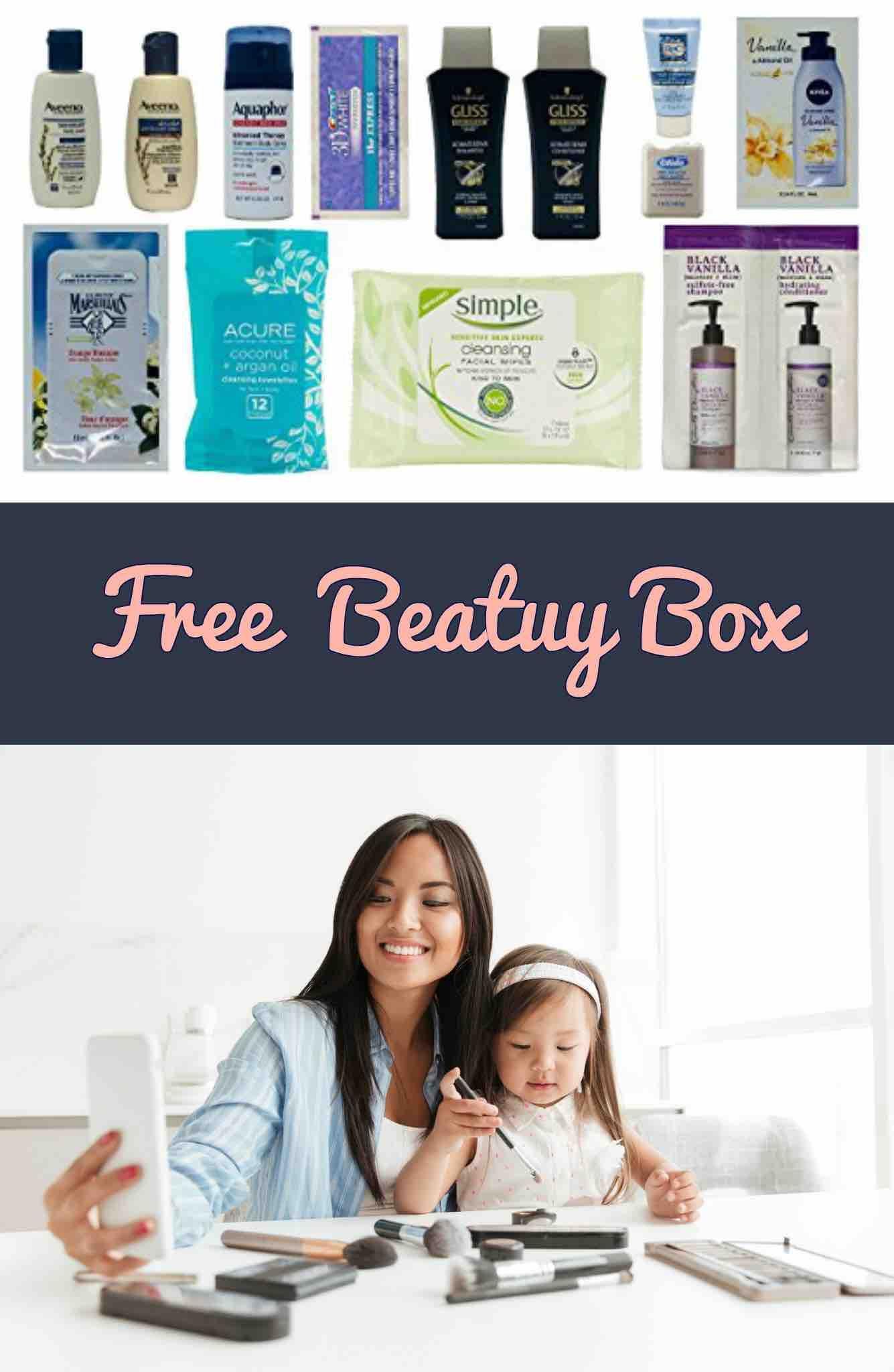 Free Amazon Women S Skin Hair Care Sample Box Mojosavings Com Women Skin Free Amazon Products Hair Care