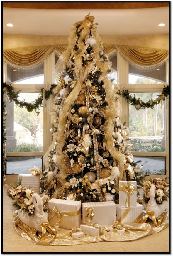 how to decorate a designer christmas tree for your luxury home