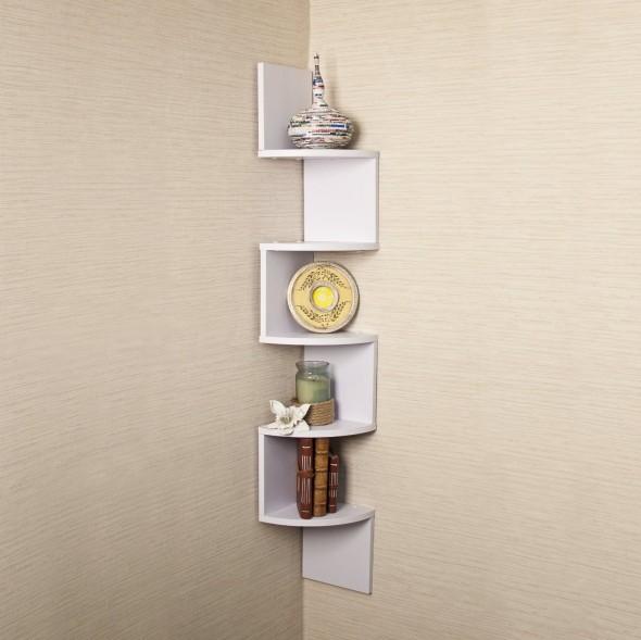بالصور أجمل أشكال الرفوف لتزيين الجدران أحدث الديكورات المنزلية Corner Wall Shelves Unique Wall Shelves Corner Wall