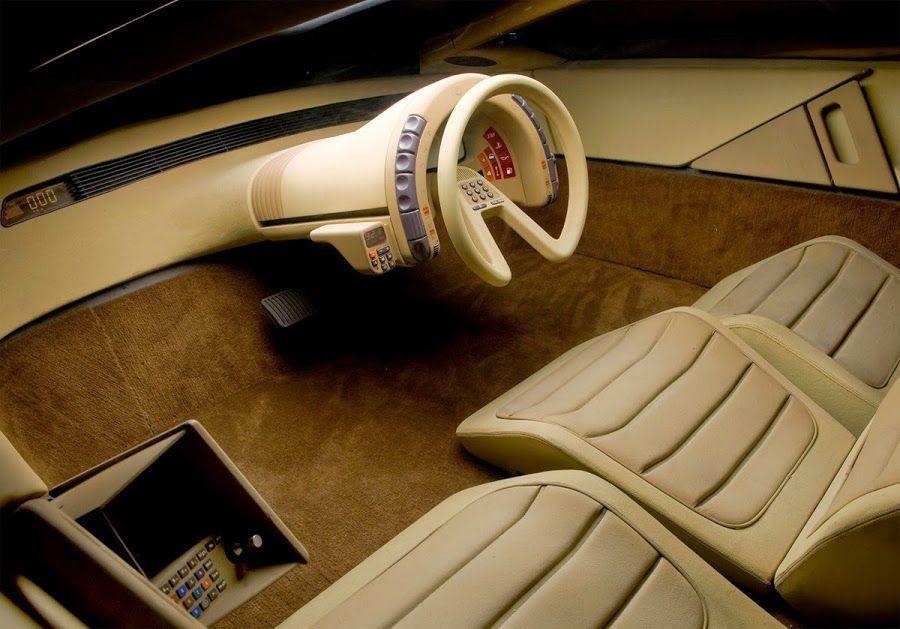 Futuristic Concept Cars From The 70s And 80s Visions From A Retro Future Unique Hunters Concept Car Interior Concept Car Interior Design Concept Cars
