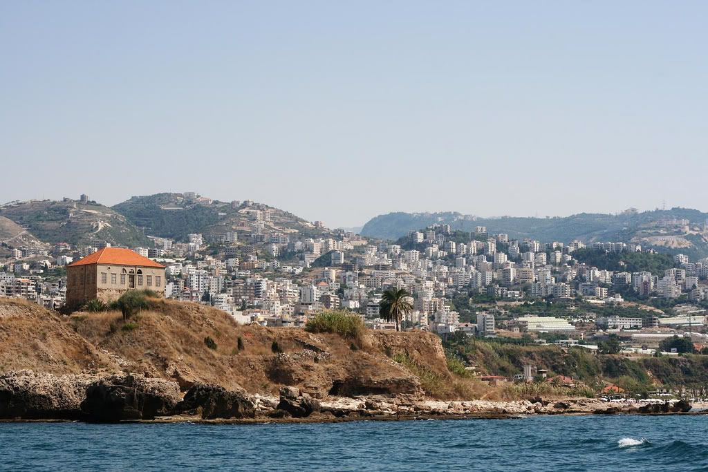 LEBANON, A VIEW OF THE NEW BYBLOS