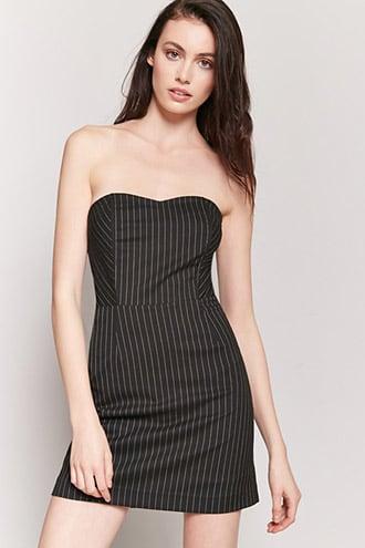 Pinstripe Strapless Mini Dress Jetzt bestellen unter: https://mode ...