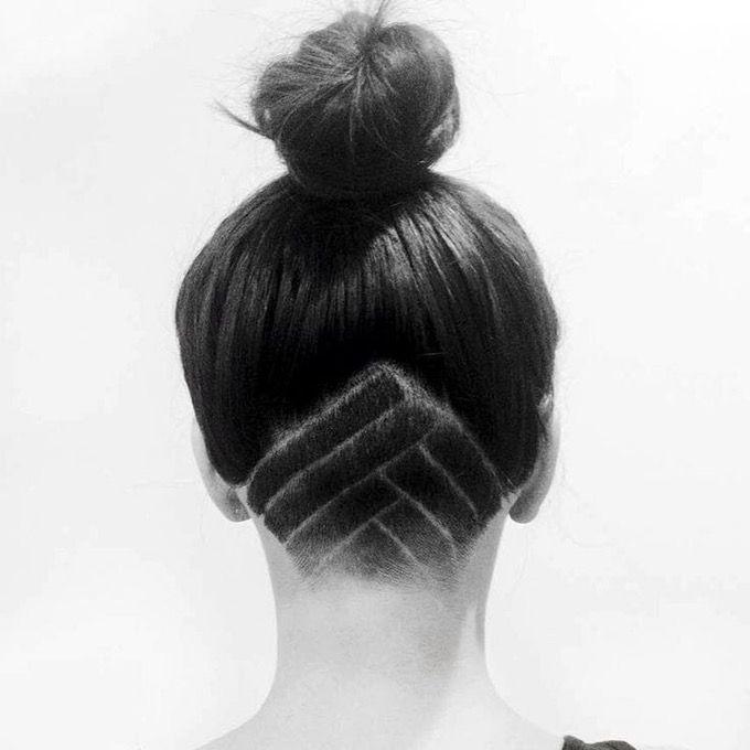 Tatouage Capillaire (5) Cheveux undercut, Cheveux et