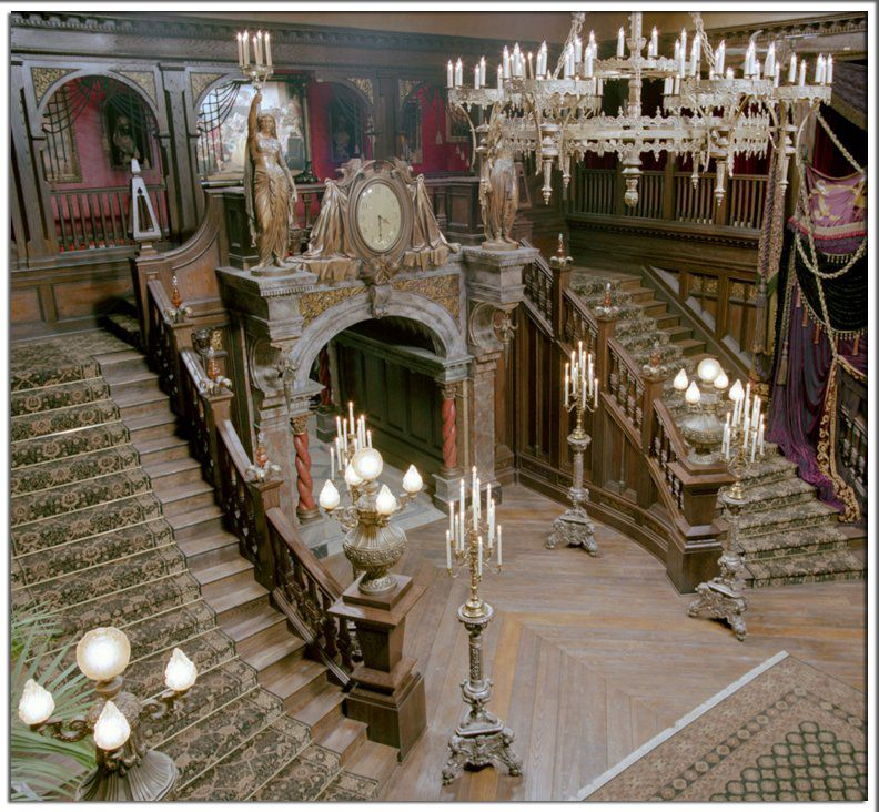 'Haunted Mansion' Movie Set. I've Never Seen This Movie