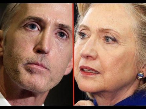 Trey Gowdy And Others Catch Hillary Clinton Lying - YouTube