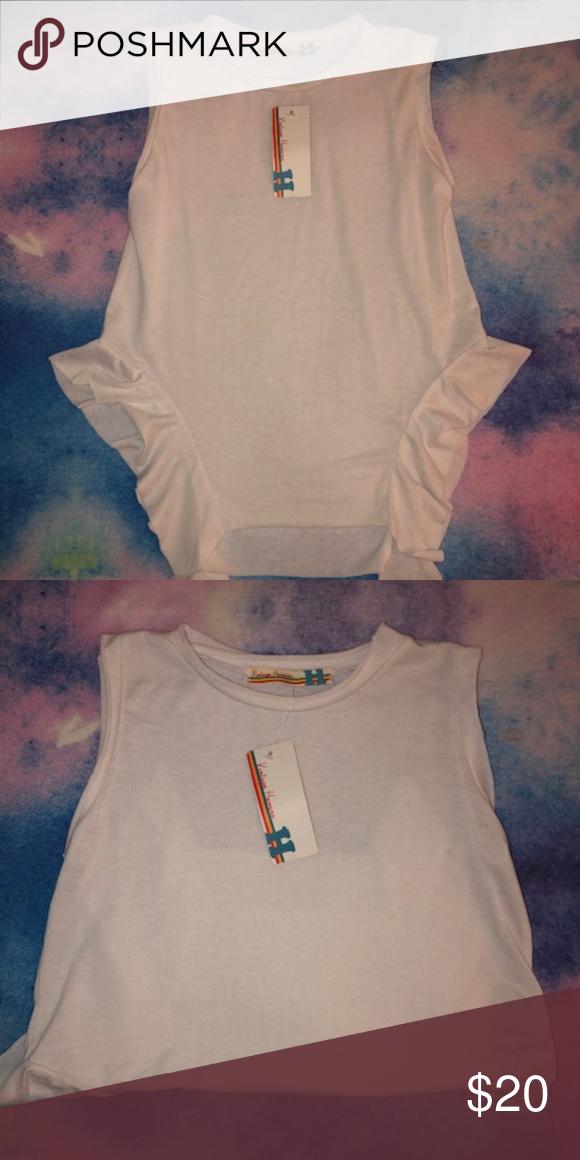 3a2507f8d456 Girl XL=14/16 87% polyester, 10% rayon, 3% spandex Vintage Havana Shirts &  Tops Tank Tops