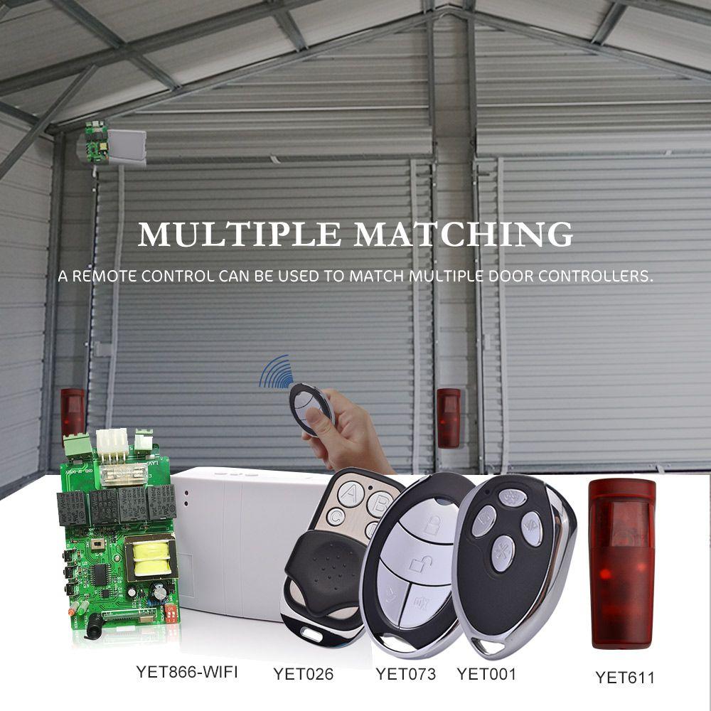 Garage Door Controller And Universal Remote Control And Infrared Sensor Remote Control Roller Shutters Wifi