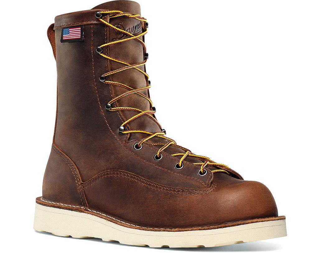"Danner Bull Run 8"" Brown Cristy in 2019 Danner boots"