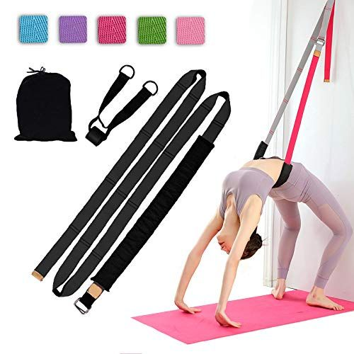 Improve Leg Waist Back Back Bend Assist Trainer Yoga Fitness Stretching Strap
