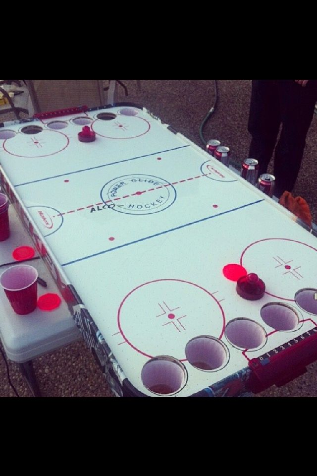Alco-hockey... A must have!
