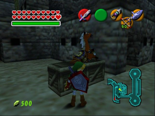 Zelda - Ocarina of Time - Master Quest (N64) game rom is