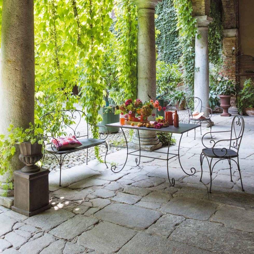 Arredi giardino in ferro 2016 | Mobili da giardino ...