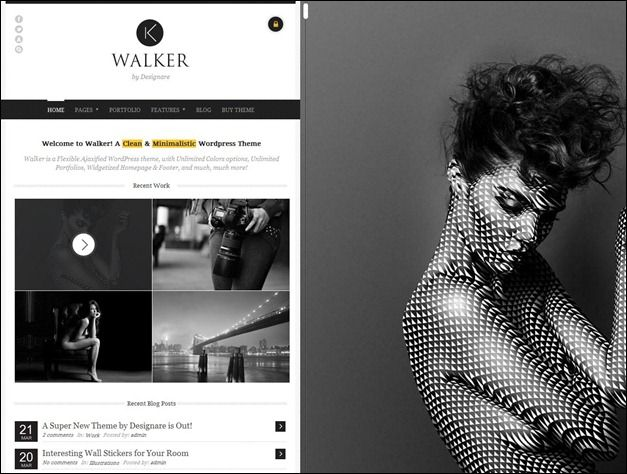 45 stunning widescreen #WordPress themes | Wordpress | Pinterest ...