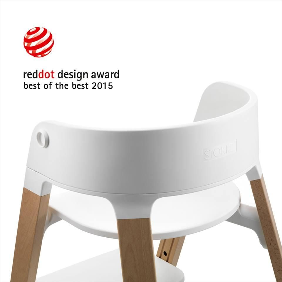 red dot design award winner best of the best 2015 stokke steps chair stokke in the press. Black Bedroom Furniture Sets. Home Design Ideas