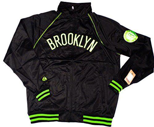 Brooklyn Nets Majestic NBA Tricot Track Jacket w/ Neon Accents Size LT Majestic http://www.amazon.com/dp/B00ROMSDT2/ref=cm_sw_r_pi_dp_vClawb1ABME0H