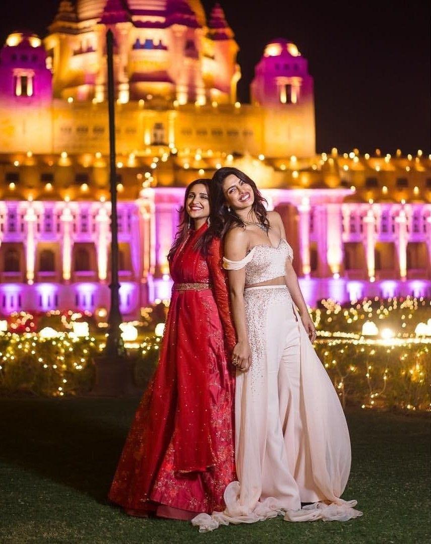 Chopra Sisters Priyanka chopra wedding, Indian
