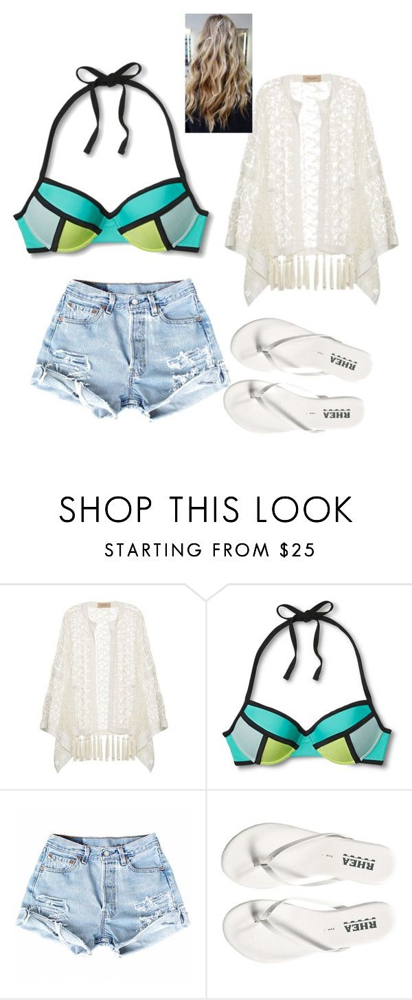 """""""Beach day"""" by jazel117 on Polyvore featuring ADRIANA DEGREAS and Xhilaration"""