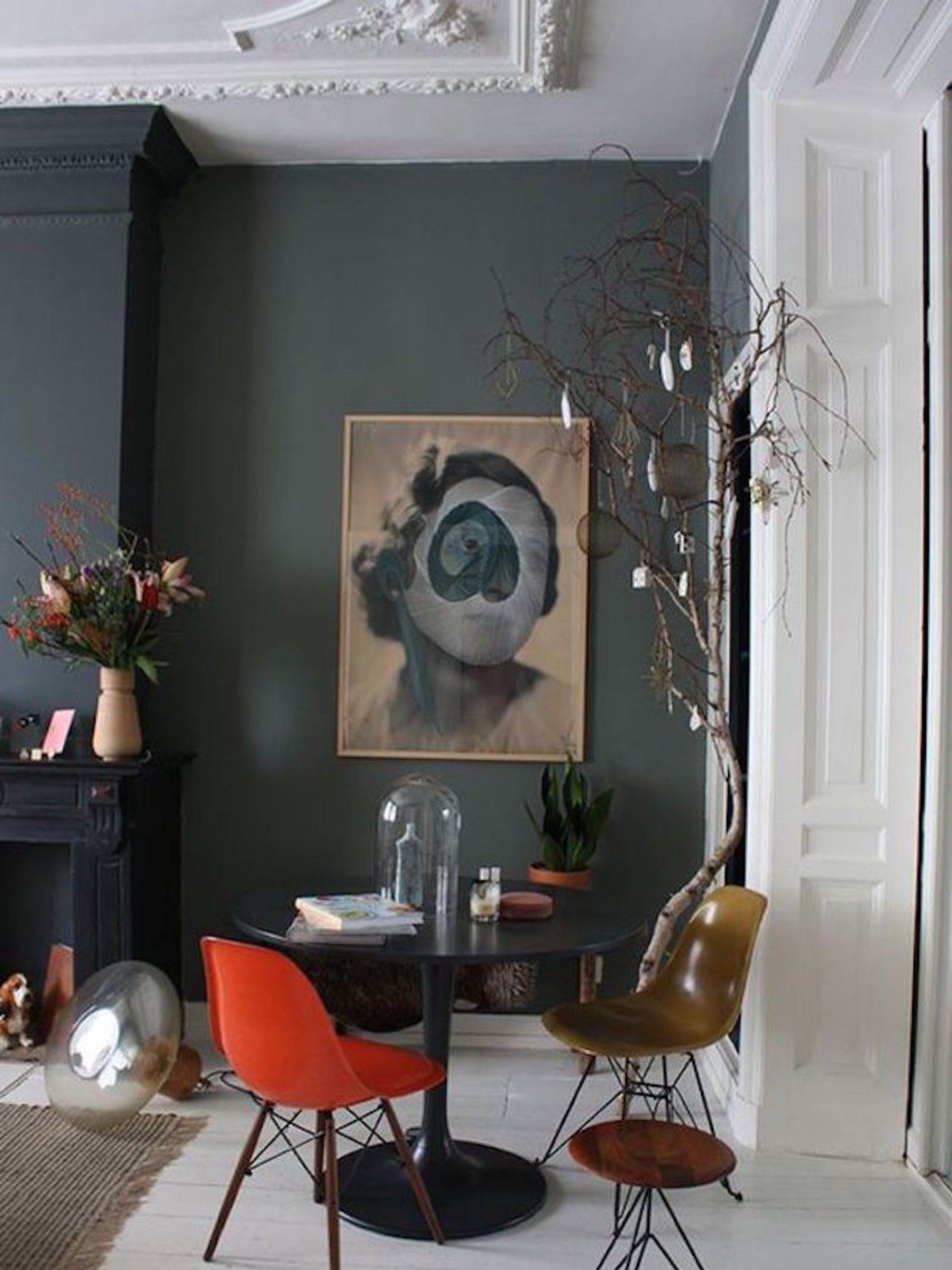 15 enviable black feature walls walls interiors and black