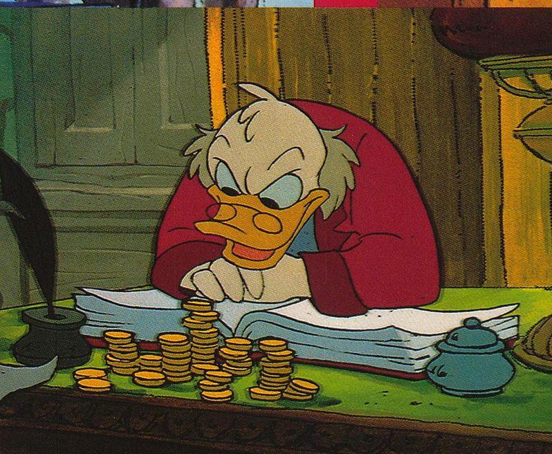 Scrooge Mickeys Christmas Carol Mickeys Christmas Carol Original