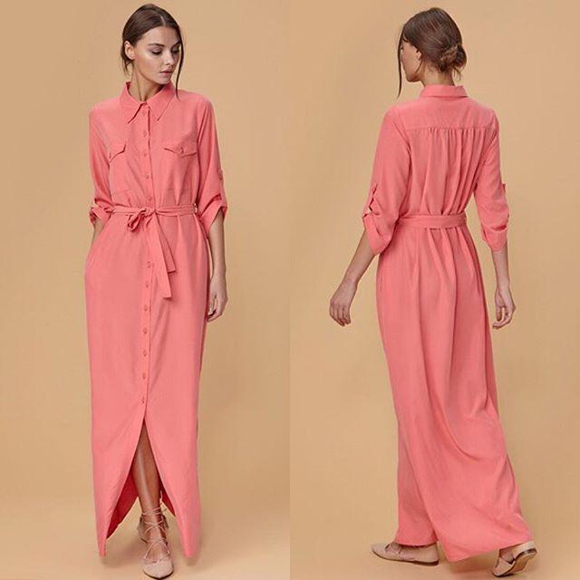 Платье в стиле сафари ☀️из коллекции весна-лето 2016 #Libellulas_com  Уже в…
