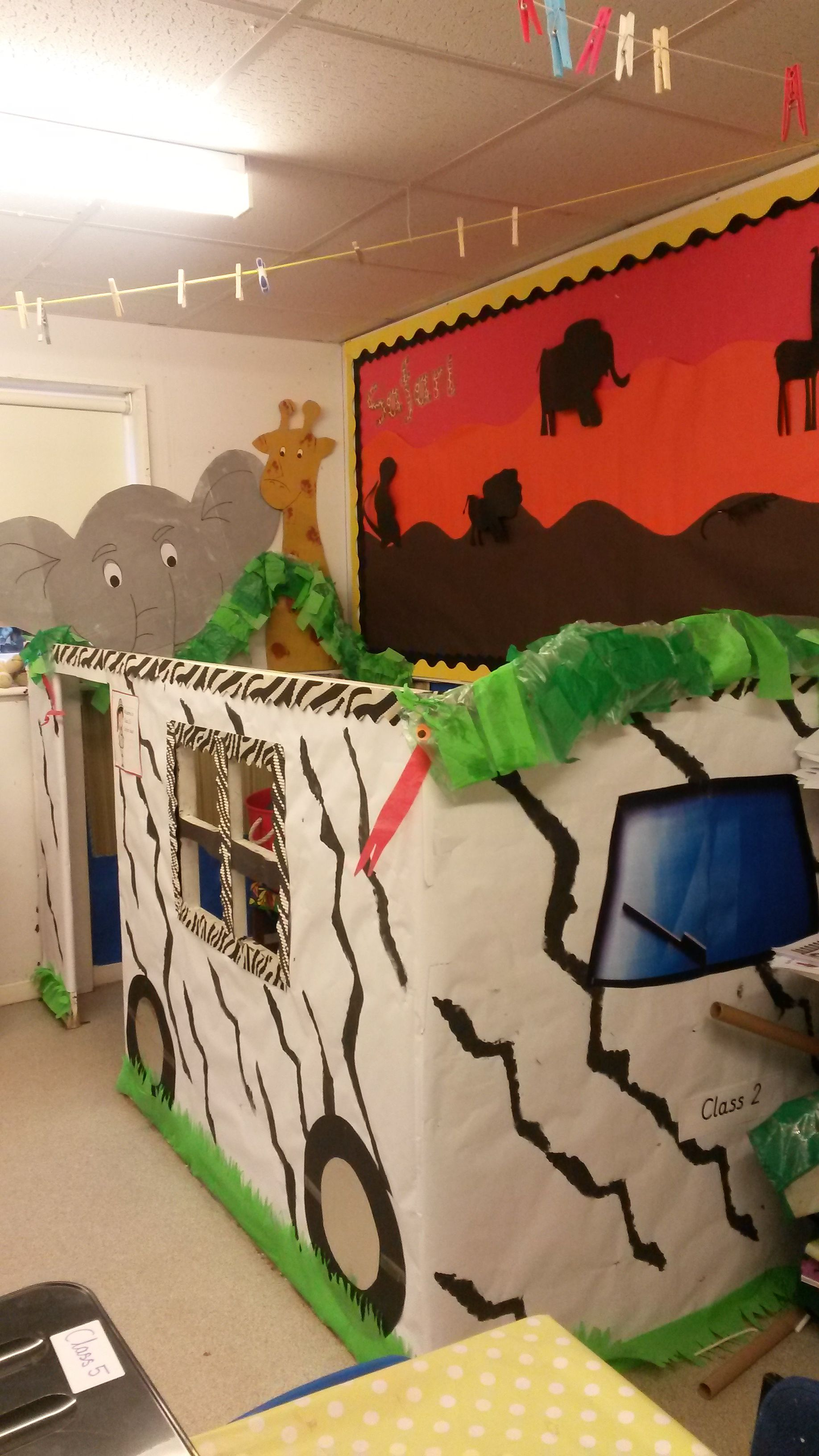 My Jungle Safari Jeep Themed Role Play Area Rfect For The Little Monkeys