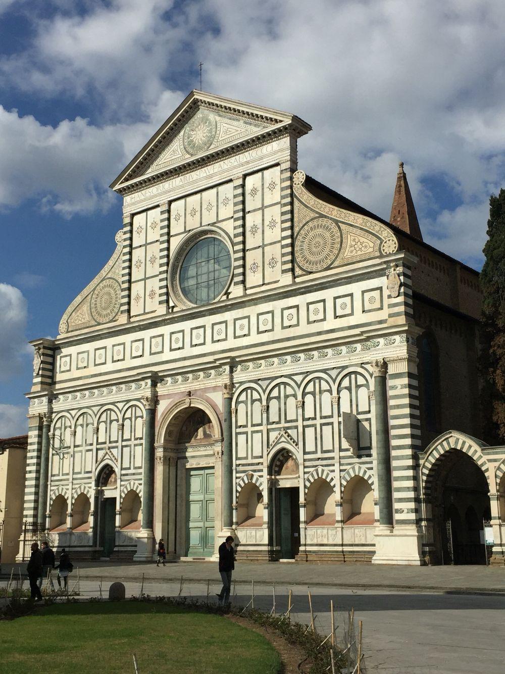 Igreja de Santa Maria Novella, Florença, Itália. (março/2016).