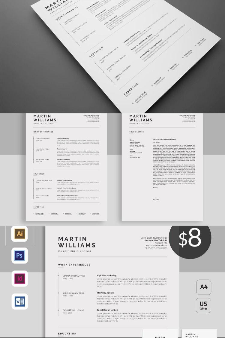 Pin on Resume Templates - Business Resume, Writing Resume ...